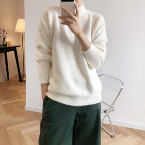 """CASHMERE"" TURTLENECK SWEATERS"