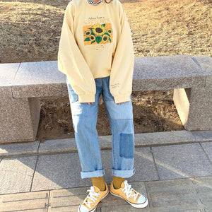 """ADVICE FROM A SUNFLOWER"" SWEATSHIRT"