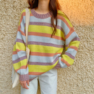 """QUAD-STRIPED"" SWEATERS"