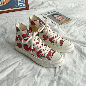 """STRAWBERRY SUNSHINE"" SNEAKERS"