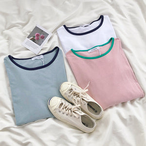"""PASTEL TWO-TONED"" LONG SLEEVES"