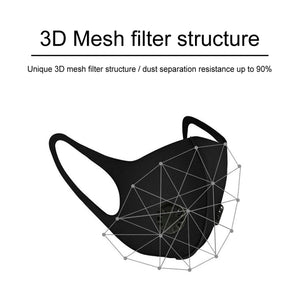 """BREATHABLE-VALVED PM2.5"" FACE MASKS"