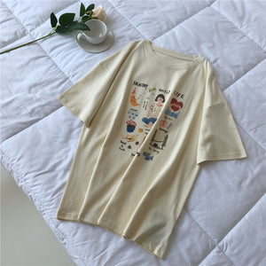 """HEALTHY DAILY LIFE"" SHIRTS"