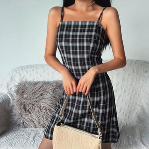 """PLAID"" DRESS"