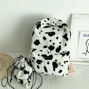 """MOO"" BACKPACK + MINI SATCHEL"