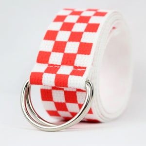 """CHECKERED"" BELTS"