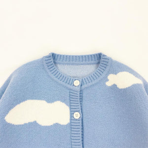 """CLOUDY"" SWEATER CARDIGAN"