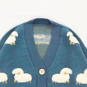"""SHEEPY"" SWEATER CARDIGAN"
