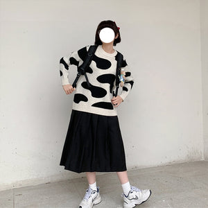 """COW"" SWEATER"