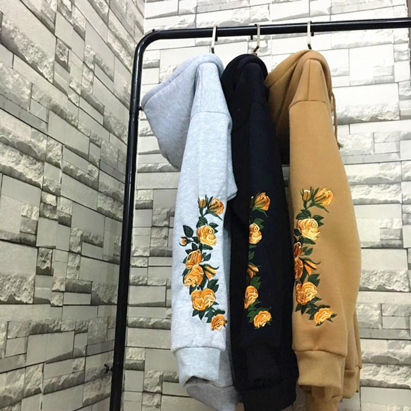 """GOLDEN ROSES"" HOODIES"