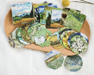 """VAN GOGH"" STICKERS"