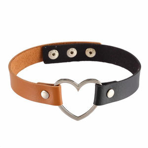 """HEART"" CHOKERS"