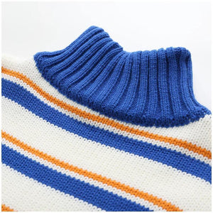 """STRIPED"" TURTLENECKS"
