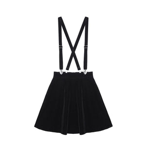 """LOLITA"" SUSPENDER SKIRT"