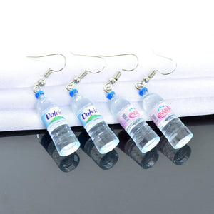 """MINERAL WATER"" EARRINGS"