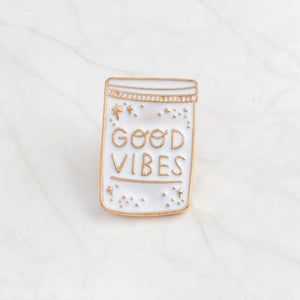 """GOOD VIBES"" PINS"