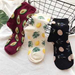 """PLANTS X FRUITS"" SOCKS"