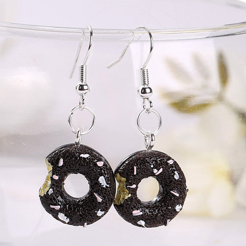 """DONUT"" EARRINGS"
