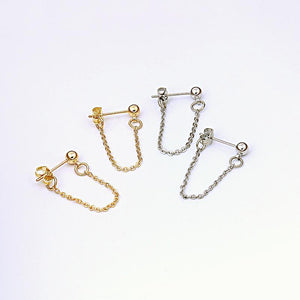 """CHAIN"" EARRINGS"