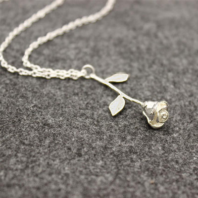 """ROSE"" NECKLACES"