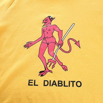 """EL DIABLITO"" CROP TOP"