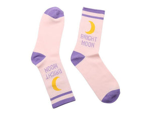 """BRIGHT MOON"" SOCKS"