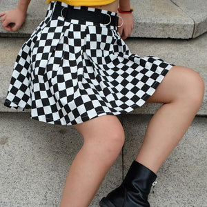 """CHECKERED"" SKIRT"
