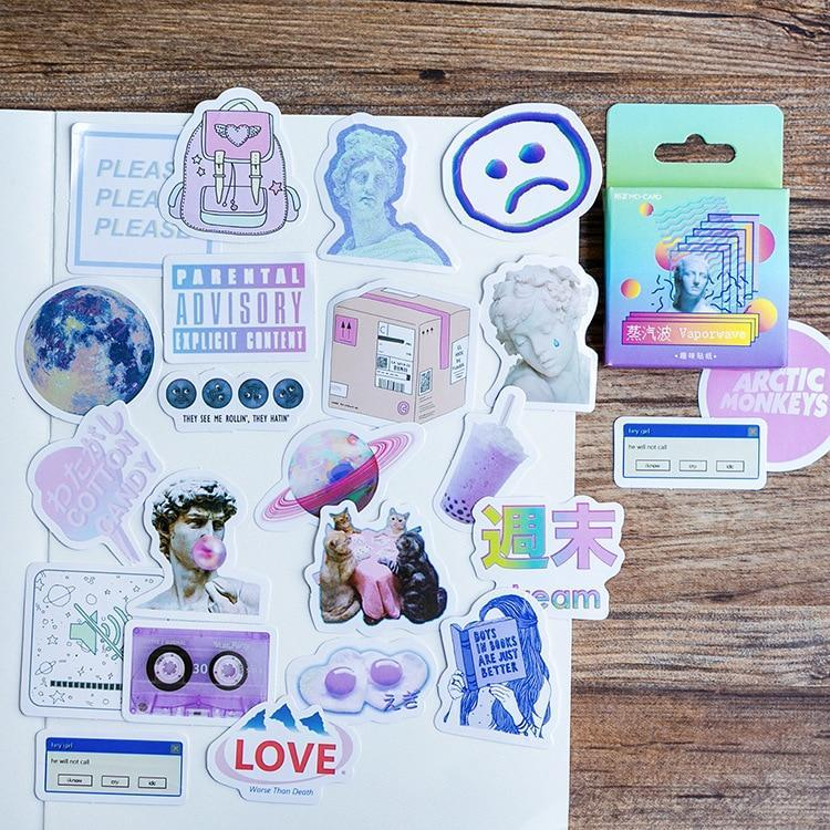 """VAPORWAVE"" STICKERS"