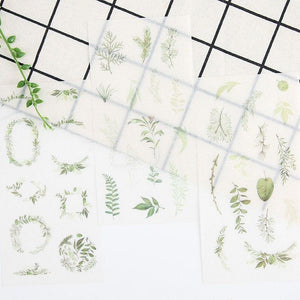 """GREENERY"" STICKERS"