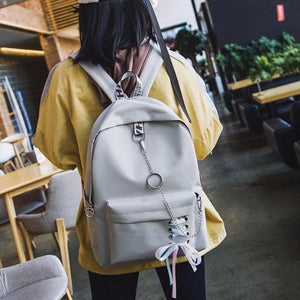 """HOOKED"" BACKPACKS"