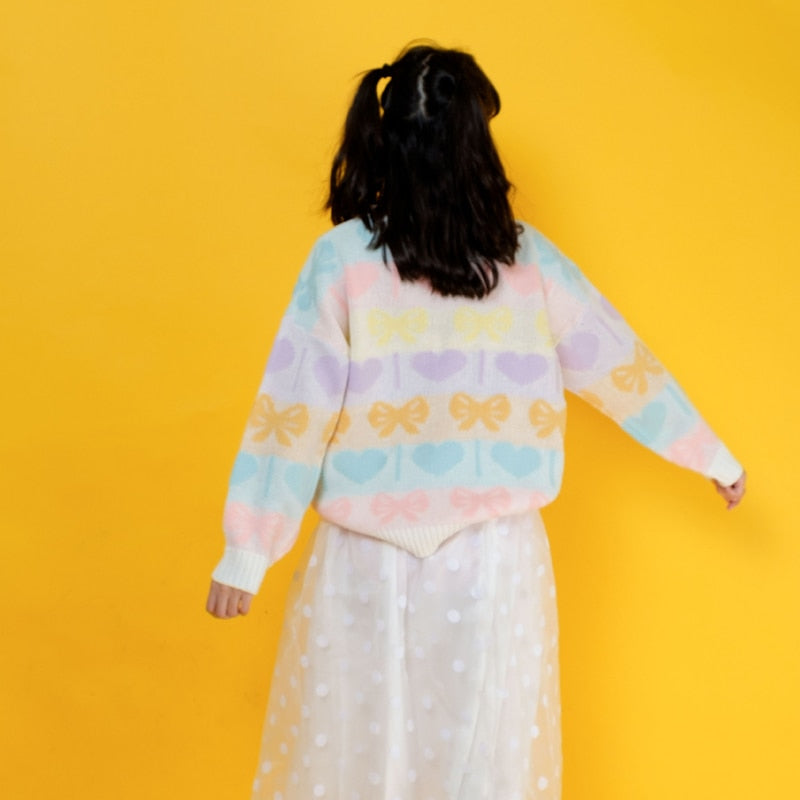 """PASTEL CANDY"" SWEATER"