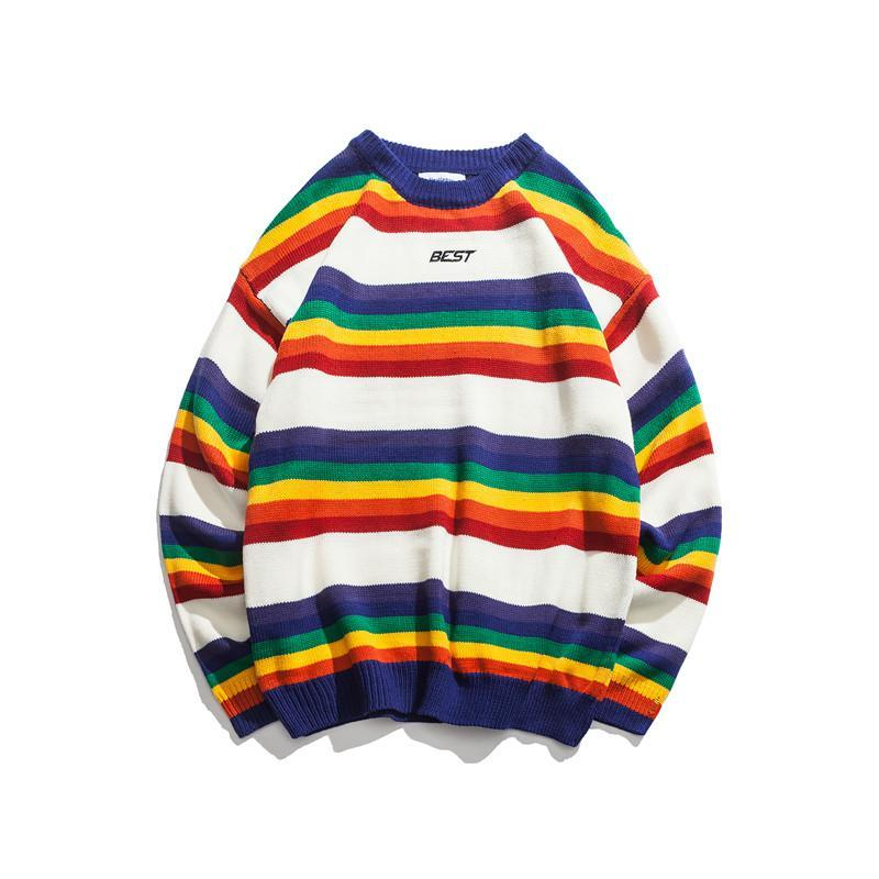"""BEST RAINBOW"" SWEATERS"