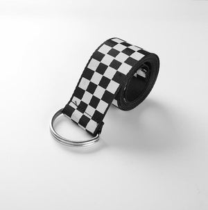 """CHECKERED"" BELT"