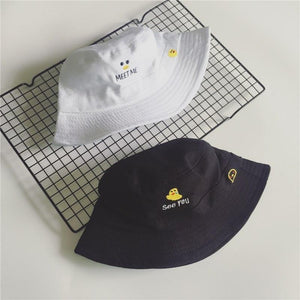 """CHICK"" BUCKET HATS"