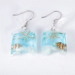 """PLASTIC x NATURE POLLUTION"" EARRINGS"