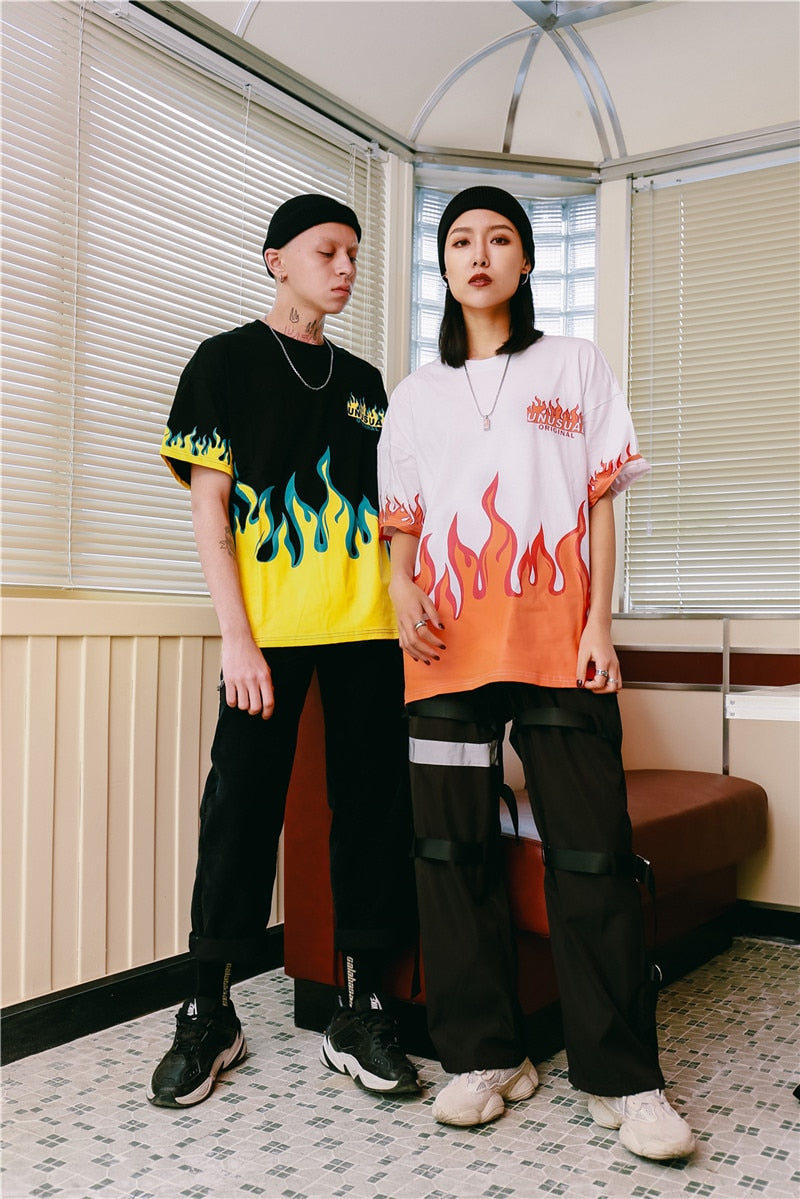 """UNUSUALLY FIREY"" SHIRTS"