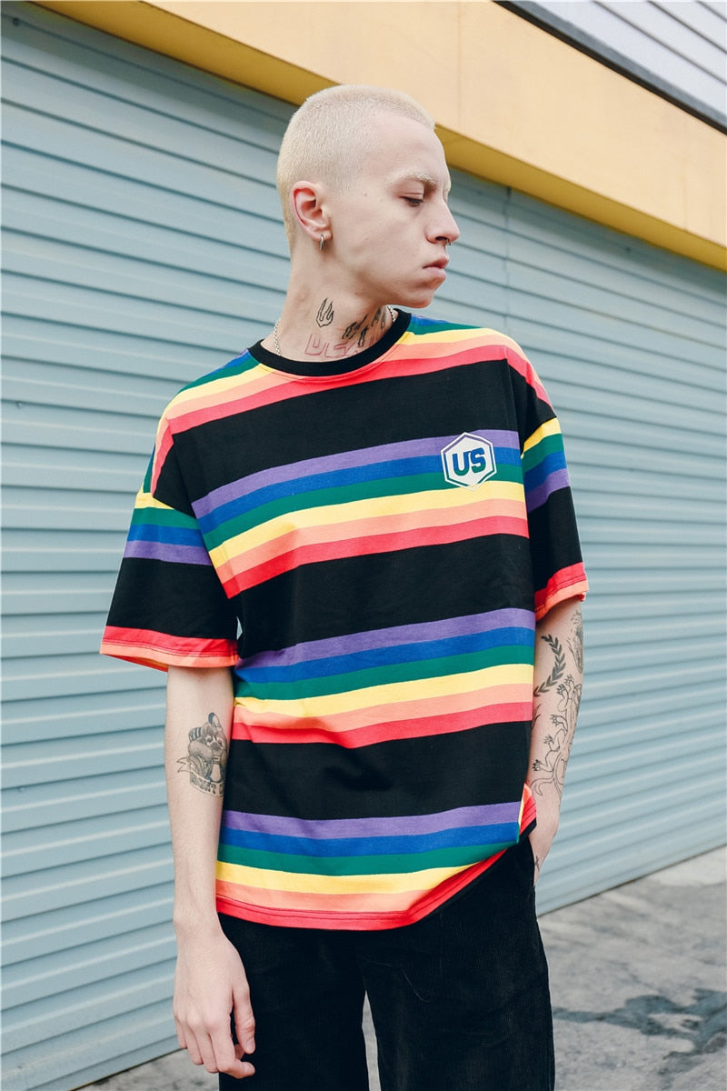 """US: RAINBOW"" SHIRTS"