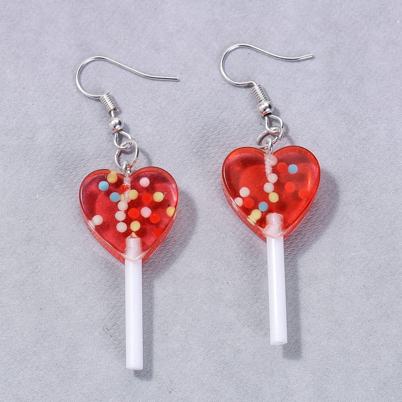 """LOVE LOLLIPOP"" EARRINGS"