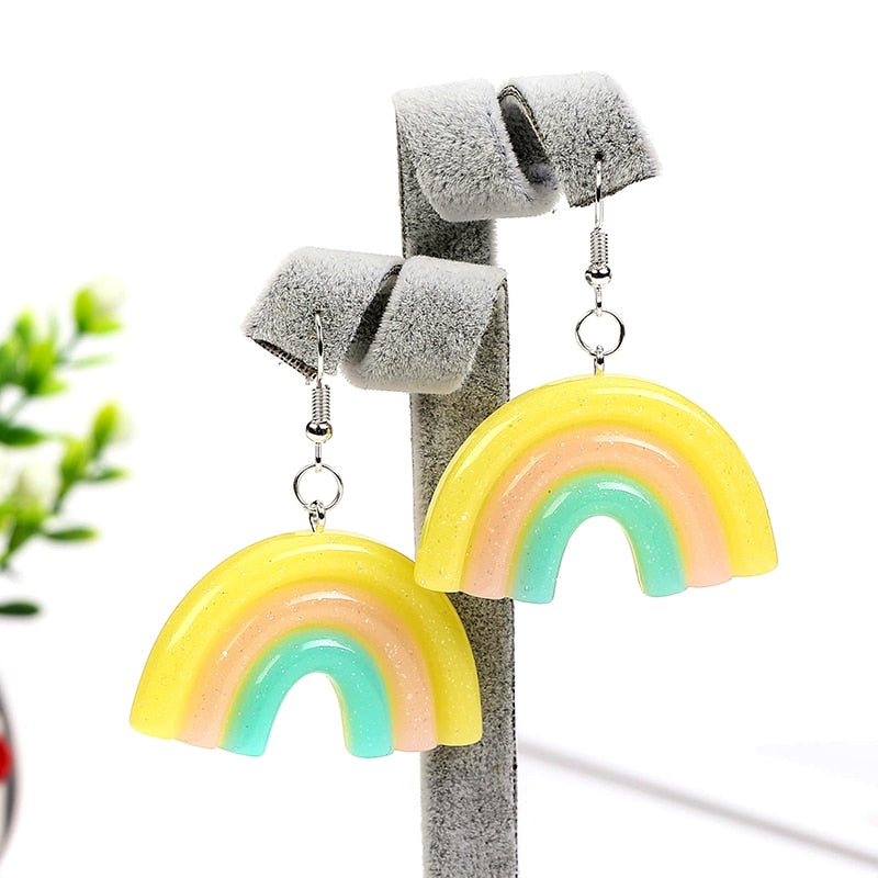 """RAINBOW"" EARRINGS"