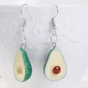 """AVOCADO"" EARRINGS"