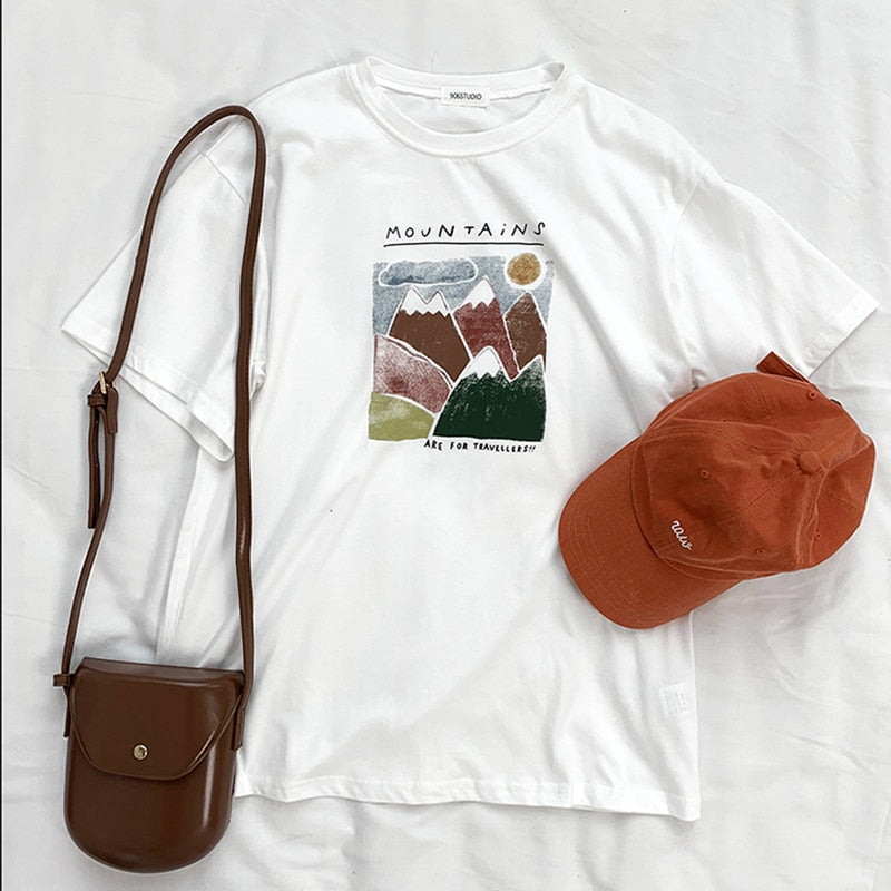 """MOUNTAINS"" SHIRT"