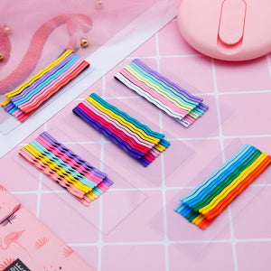 """RAINBOW"" HAIR CLIPS"