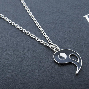 """YIN YANG"" TWO-PIECE NECKLACE"