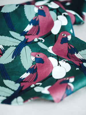 tea towel linen rosella and davidson plum