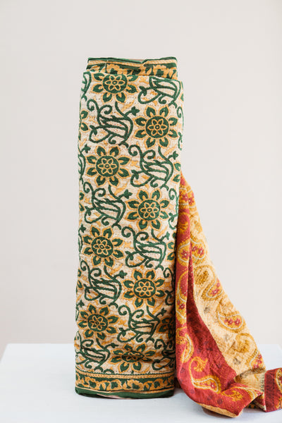 Kantha Yardage - Full Sari No. 1