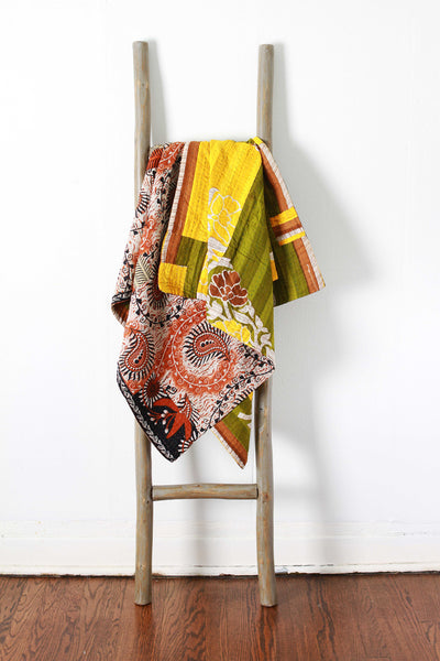 Colorful Kantha No. 602