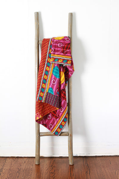 Colorful Kantha No. 603