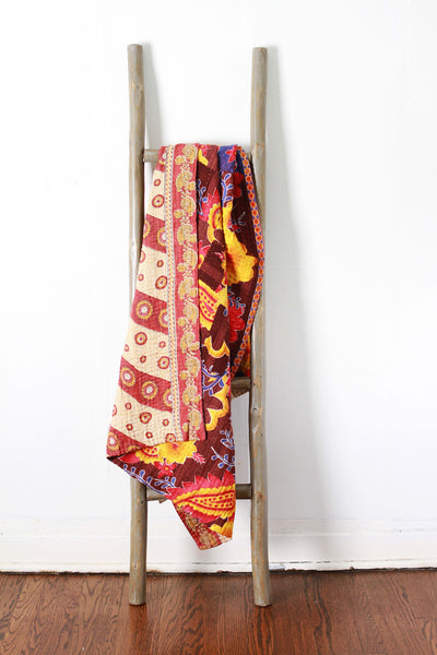 Colorful Kantha No. 604