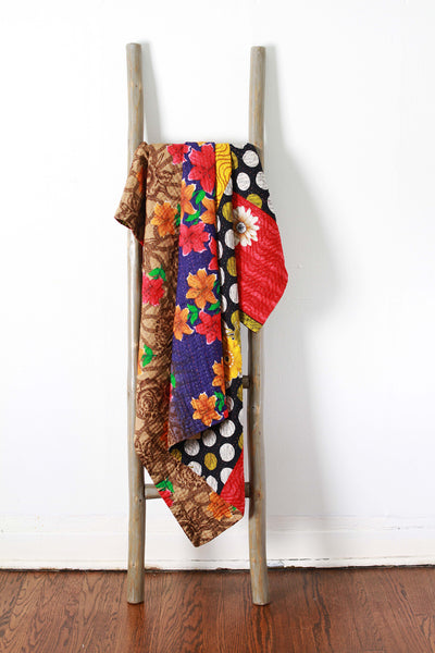 Colorful Kantha No. 605