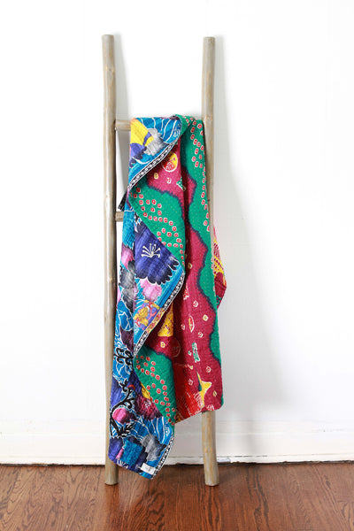 Colorful Kantha No. 607